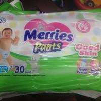 Popok Bayi Merries Pants Good Skin Size L Isi 30