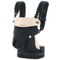 ergo baby carrier 360 four position black/camel