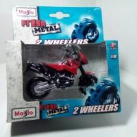 KTM Duke 2 Wheelers Rally Maisto 1/18 Diecast Metal