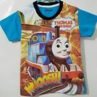 Grosir Kaos Anak Karakter Motif Thomas Gurun 7-10 T