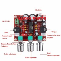 MTC-05 XR1075 BBE Digital Tone Control Audio Processor Exciter