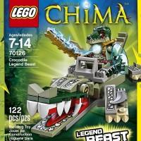 LEGO 70126 CHIMA CROCODILE LEGEND BEAST