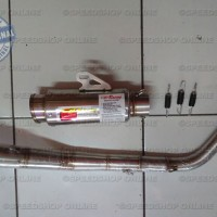 harga Knalpot CLD Racing Sonic 150R Type Monster Race Tokopedia.com