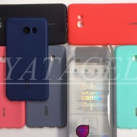Case Spotlite Candy Samsung Galaxy C7 Softcase/Doff/Solid/Softshell