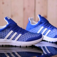 Adidas Boost Revolution Blue White Premium