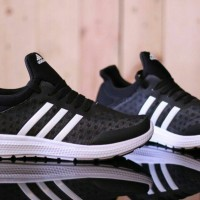 Adidas Boost Revolution Black White Premium