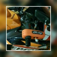 Griplock Grip Lock Capslock Kunci Gembok Pengaman Stang Motor Kokoh