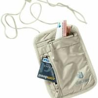 deuter Security Wallet I original / dompet / tas paspor - endemik