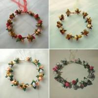 FLOWER CROWN /Mahkota bunga ; EDISI 3 BUNGA KUNCUP ; Accessories/Bando