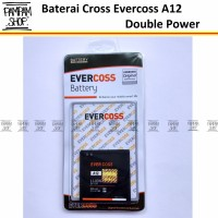 Baterai Cross Evercoss A12 Original Double Power | Batre, Evercross HP