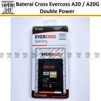 Baterai Cross Evercoss A20g Original Double Power | Batre, Evercross