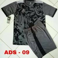 Kaos Setelan Adidas / Jersey Futsal / Kostum Bola / Baju Tim Olahraga