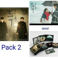 GUARDIAN-THE LONELY & GREAT GOD-GOBLIN ORIGINAL OST PACK. 2 + POSTER