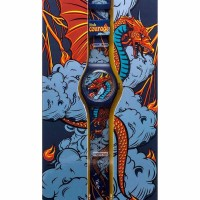 Linkgraphix Signature XL-02 Courage Jam Tangan Unisex Playhour - Biru