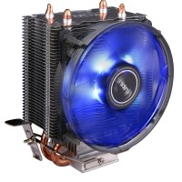 Antec A30 92mm Blue LED CPU Cooler Dual Heatpipe