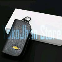 Gantungan Kunci Mobil Kulit Chevrolet Aveo/Trax/Captiva/Orlando/Spin