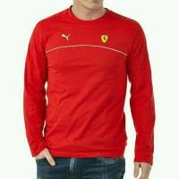 Tshirt/T shirt long sleeve/Kaos lengan panjang Puma Ferrari