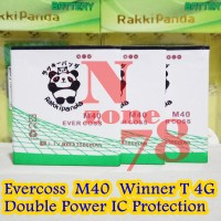 Baterai Cross Evercoss M40 Winner T 4g Double Power Ic Protection