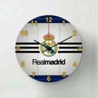 Jam Dinding Real Madrid / Dekorasi Kamar Tema Sepakbola