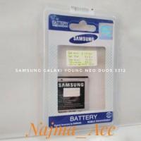 Baterai Samsung Galaxy Young Neo Duos 5312 Kapasitas 1200mAh Original