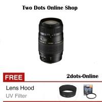 Tamron Lensa AF 70-300 mm Canon Nikon Tamron 70-300mm + Free UV Filter