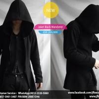 Jaket Sweater Black Wanderer