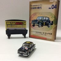 TOYOPED CROWN DX - TOMYTEC JAPANESE CAR ERA 04 - SKALA 1:64 (DIECAST)