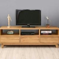 Meja tv, rak lemari bufet credenza kayu jati minimalis vintage retro