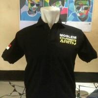 kaos kerah/baju/polo shirt islam cyber army