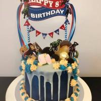 Jual Cake Topper Ribbon Murah