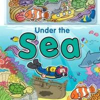 BUKU CERITA ANAK - UNDER THE SEA - MAGNETIC STORY & PLAY SCENE