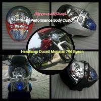 harga Headlamp Ducati 796 Byson+reflektor Tokopedia.com