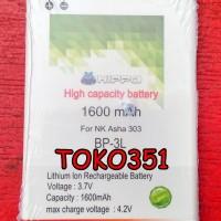Batery Baterai Nokia Lumia 303 603 510 500 603 610 710 900 BP-3L BP3L