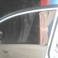 Tirai / Gorden mobil Susuki Ertiga warna moca