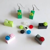 Anting Lego / Fish Hook Lego Earring Type 4