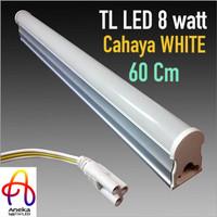 harga lampu TL LED kecil 60 cm 8 watt cocok u gerobak etalase dll Tokopedia.com