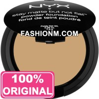 NYX Stay Matte But Not Flat Powder Foundation - Medium Beige SMP06