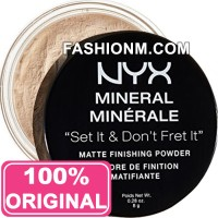 NYX Mineral Finishing Powder - Light/Medium