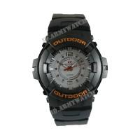 Jam Tangan Pria Swiss Army SAX 1014-02 - Rubber Hitam Dial Putih