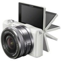 New Kamera Mirrorless Sony Alpha A5100 Lensa Kit 16-50mm White Putih
