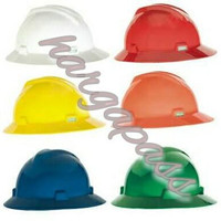 helm msa Vgard full brim Hard Hat,helmet safey