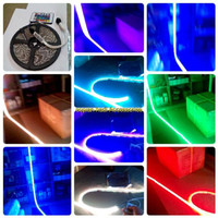 LED Strip RGB 16 warna smd 5050 ( bukan smd 3528 )