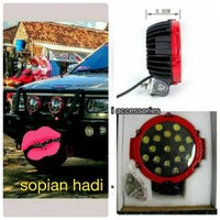 Lampu Sorot Offroad Led Bar Epistar 51 Watt Super Bright