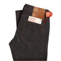 The UNBRANDED BRAND UB101 SKINNY FIT 14.5OZ INDIGO SELVEDGE Denim