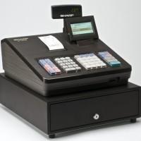 Mesin Hitung Kasir / Cash Register merk SHARP XE A207 Garansi 1 Tahun