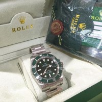 Jam Tangan Replika Rolex Submarine Green Ultimate Clone 1:1 Dgn Asli