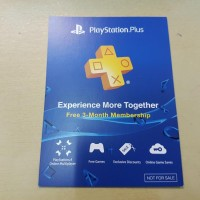 Voucher Sony Playstation Plus Asia (ps3 ps4 psv KUALITAS TERJAMIN 0