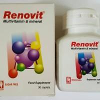 Renovit multivitamin isi 30 tablet