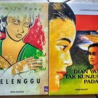 Novel Dian Rakyat ( Belenggu & Dian Yang Tak Kunjung Padam )