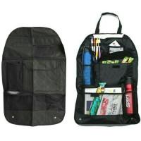 Car Seat Organizer Bag /Tas Mobil/Rak Jok Gantung-Black